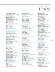Directorio Latinoamericano de Editoriales - CUBA 1 ... - Cerlalc