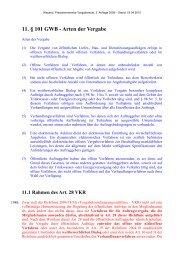 11. § 101 GWB - Arten der Vergabe - Oeffentliche Auftraege