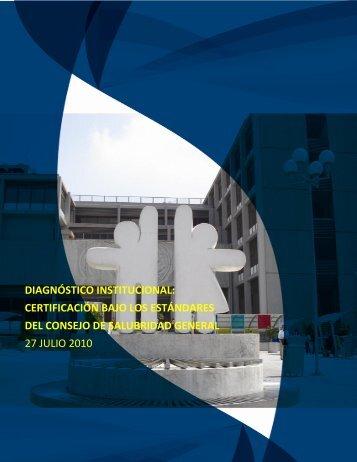 diagnóstico institucional - Instituto Nacional de Pediatría