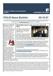 Weekly Bulletin 091007.pub - School of Politics International Studies ...