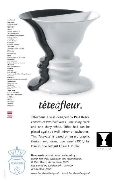 Tete A Fleur Paul Baars Design Bno