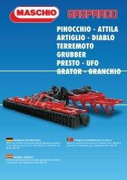 pinocchio - attila artiglio - Maschio Deutschland GmbH