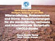 PD Dr. Hans Günter Brauch und Prof. Dr. Ursula Oswald Spring