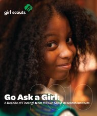 Go Ask a Girl: - Girl Scouts of the USA