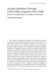 As duas repúblicas - Revista Comunicação e Cultura