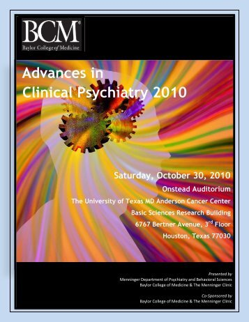 Advances in Clinical Psychiatry 2010 - CME Activities