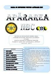 BAZA DE INSTRUIRE PENTRU APÃRARE NBC