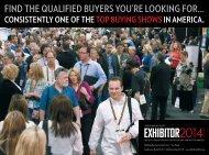EXHIBITOR2014 Prospectus - Exhibitor Magazine