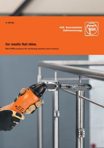 Download PDF - C. & E. FEIN Gmbh