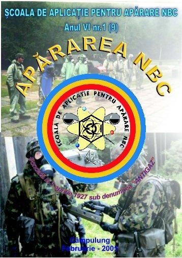 Câmpulung Februarie - 2005 - Baza de Instruire pentru Aparare CBRN