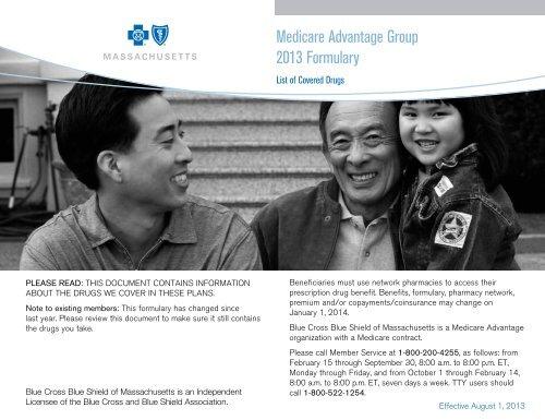 2013 Medicare Advantage Formulary For Group - Blue Cross -7218