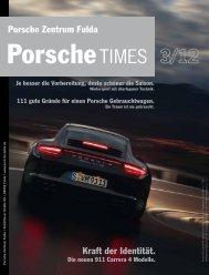 Kraft der Identität. Porsche Zentrum Fulda