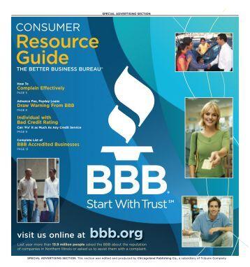 Resource Guide - Better Business Bureau