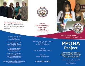 Project - Caribbean University