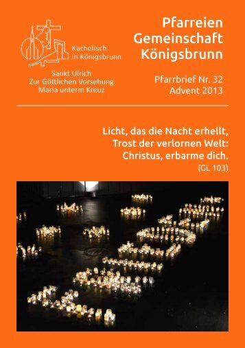Download pfarrbrief-2013advent-inet.pdf - Katholisch in Königsbrunn