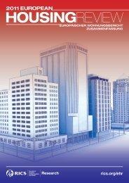European Housing Review Summary (German) - International Union ...