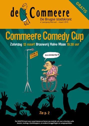 Commeere Comedy Cup - De Commeere