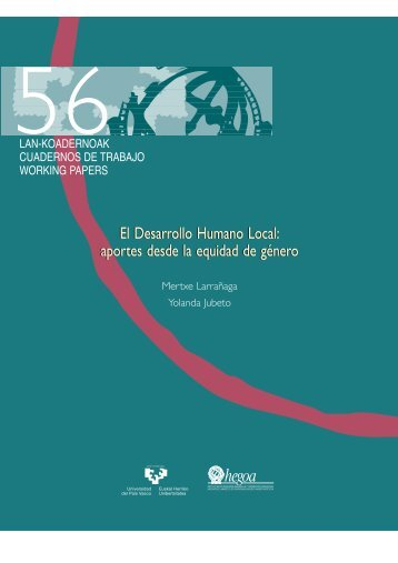 aportes desde la equidad de género - Portal de Desarrollo Humano ...