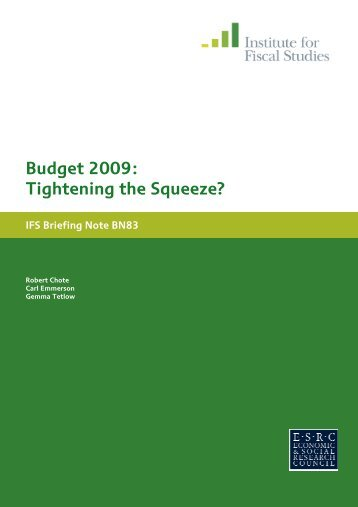 Download full version (PDF 135 KB) - The Institute For Fiscal Studies