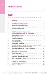 Haug: Taschenatlas Myofasziale Triggerpunkte - Georg Thieme Verlag