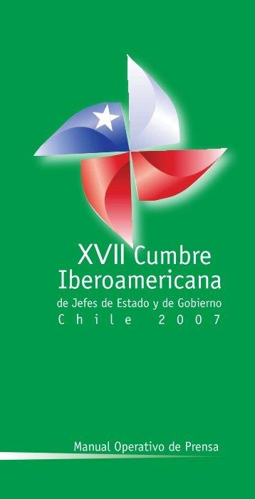 XVII Cumbre Iberoamericana - Presidencia de la República