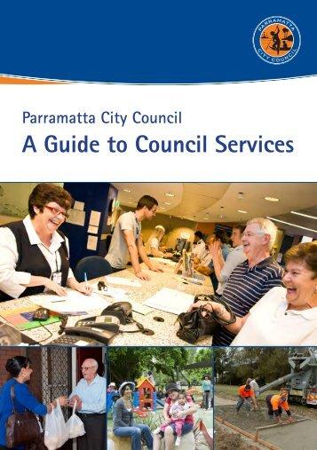 A Guide to Council Services - Parramatta City Council