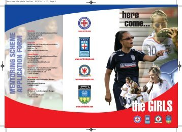 Here come the girls leaflet - The Football Association