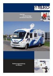Bedienungsanleitung mit Bildern Flat Sat (pdf) - Teleco