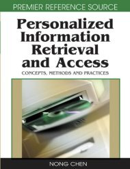 Personalized Information Retrieval and Access - To Parent Directory