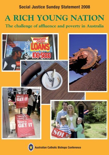 A Rich Young Nation: The challenge of affluence and poverty in ...