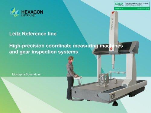 Leitz Reference line High-precision coordinate measuring ... - KODA