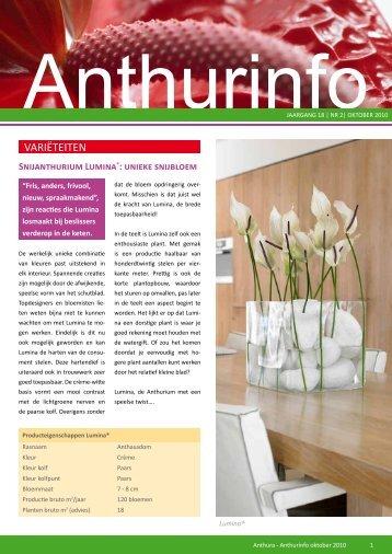 Nummer 2, 2010 - Anthura