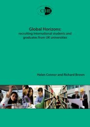 Global Horizons: recruiting international students and ... - Nases