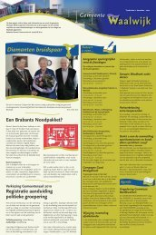 Gemeentepagina week 51 - Gemeente Waalwijk
