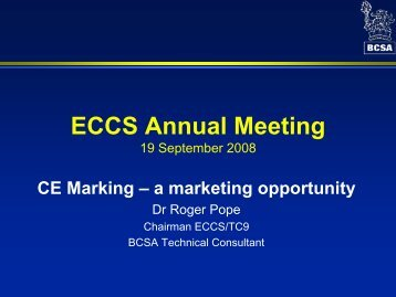 CE Marking – a marketing opportunity