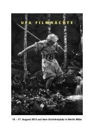 Presseheft (PDF-Datei) - UFA Filmnächte