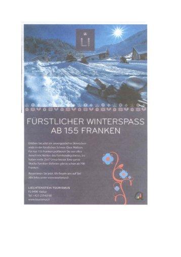 FURSTLICHER WINTERSPASS AB 155 FRANKEN