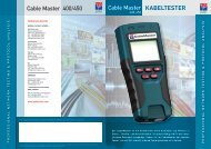 Psiber Cable Master 400/450 - ROTRONIC
