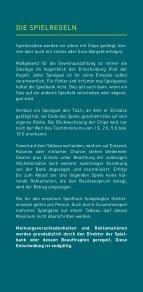 AMERICAN ROULETTE - Spielbanken Bayern - Seite 4