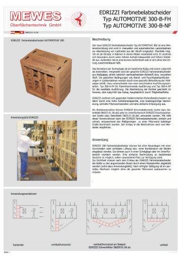 Typ300.. - Gumprecht Oberflächentechnik GmbH