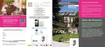 Téléchargement - Office de tourisme Salon de Provence