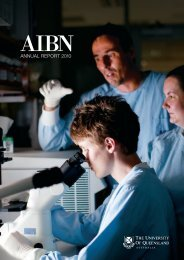 Download the 2010 AIBN Annual Report. - Australian Institute for ...