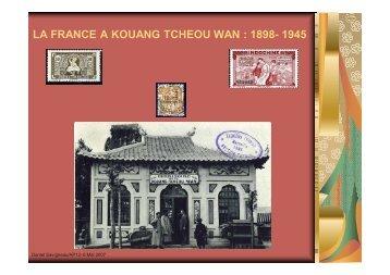 Kouang tcheou wan - Amicale Philatélique Paris 12