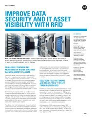 Improve data security and IT asset visibility with RFID - Motorola ...