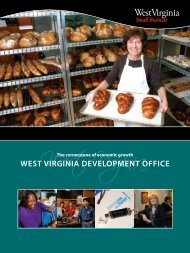 Small Business Annual Report - West Virginia Department of ...