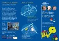 Brookes Babylab - Oxford Brookes University