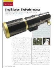 Small Scope, Big Performance - William Optics