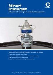 Automatischer Drehzahlregler für ... - Graco - Graco Inc.