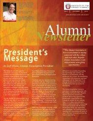 Fall 2010 - University of Utah College of Pharmacy Home
