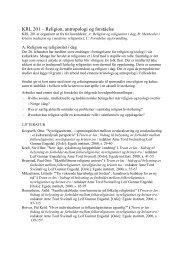 Emnekatalog bachelor nivå 2004 høst (pdf) - Det teologiske ...